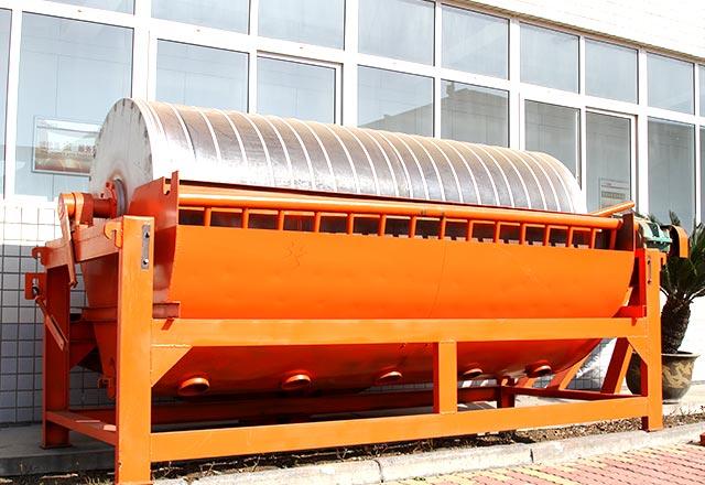 红星机器永磁筒式磁选机