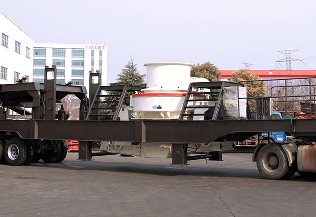 车载移动制砂机