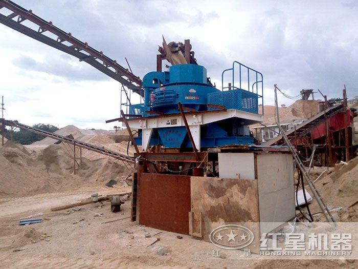 hvi制砂机加工沙设备