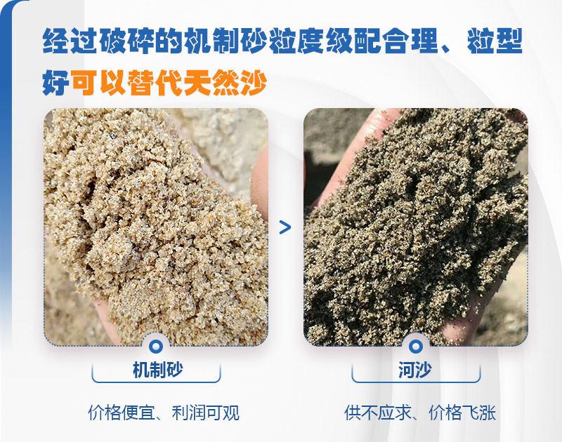 机制砂与河沙