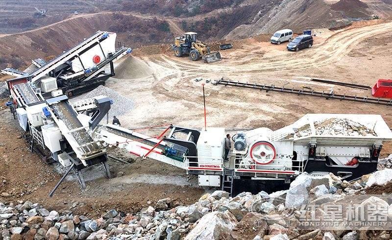 达州时产100吨生产线安装现场