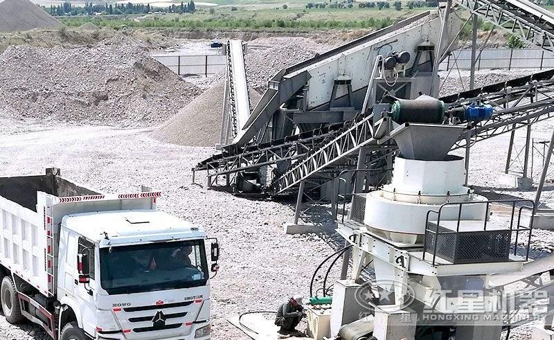 湖南制砂生产现场