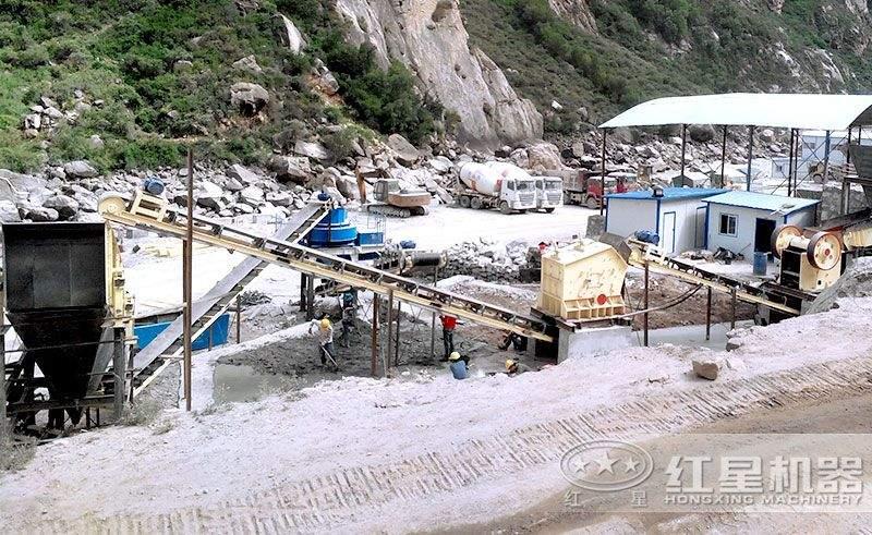 石头碎沙生产线