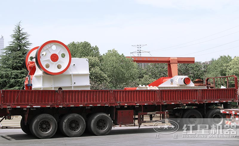 红星机器青石粉碎机发货中