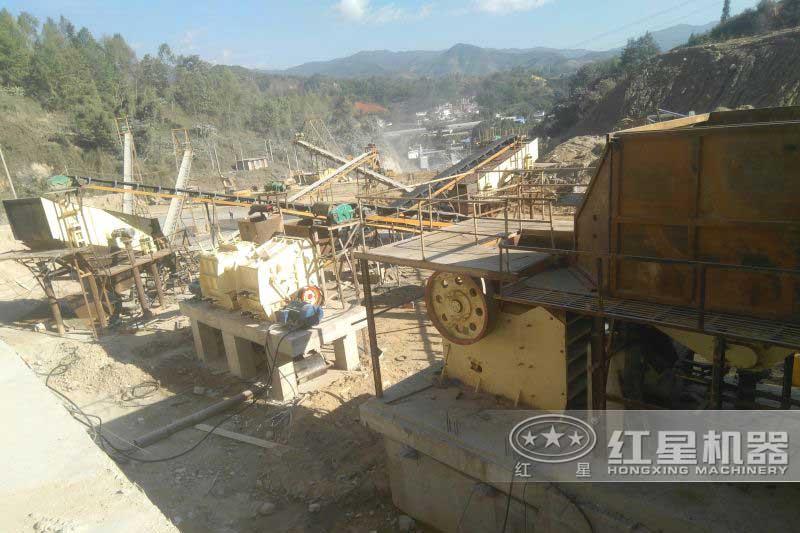 时产600吨砂石生产线