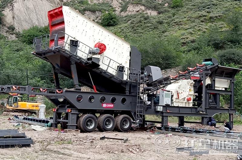 三合一多功能建筑垃圾分类处理设备