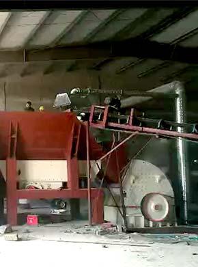 在砖厂里建一条破碎生产线,用锤式破碎机和对辊破碎机可以吗