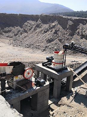 制成1-4公分的砂石骨料用什么机器合适
