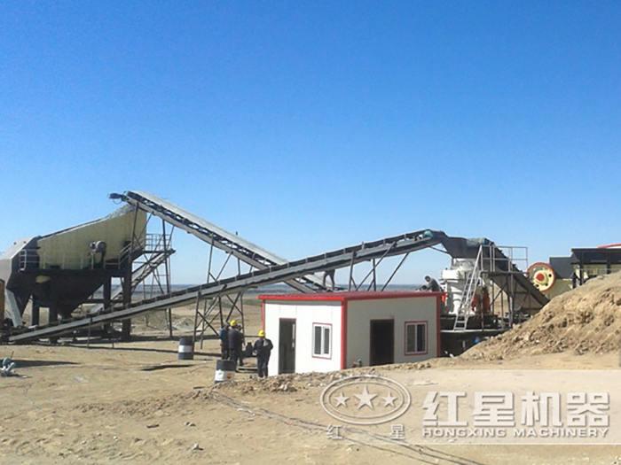 福客户投资的砂石场即将开工