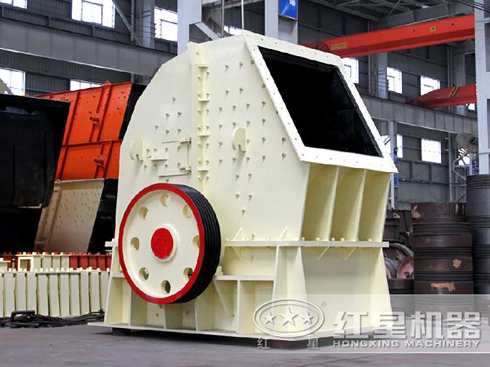 时产可达3000吨的破石机