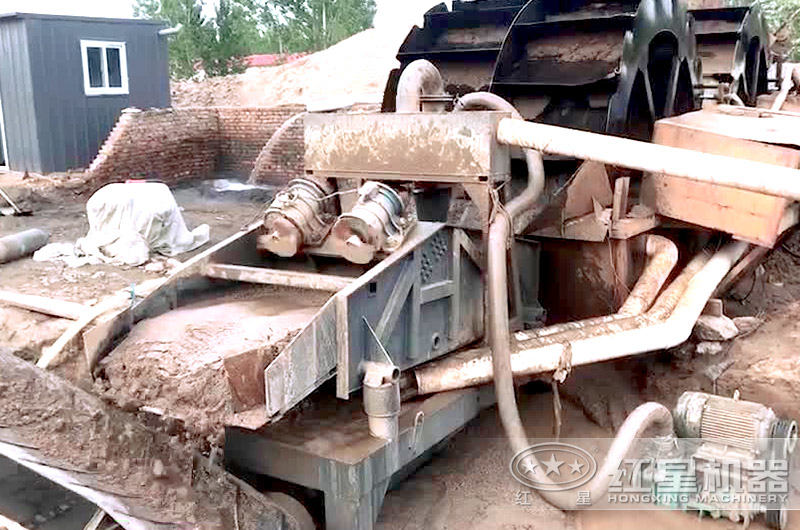 洗砂机生产线