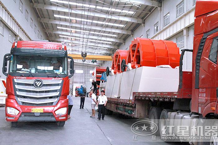 红星机器水洗石子设备厂家