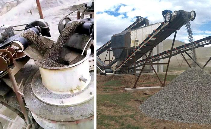 质量好的制砂机设备通过量大