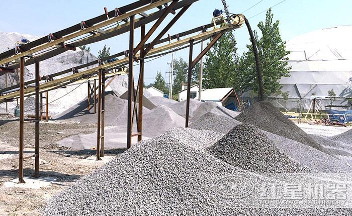 机制砂打出来的砂子