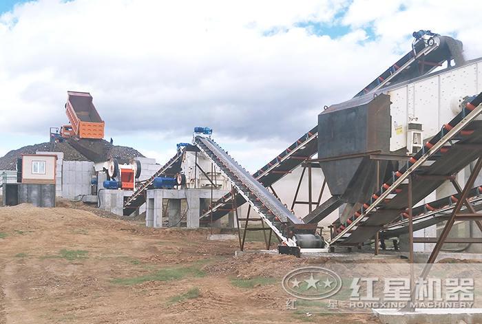 生产建筑沙子配置