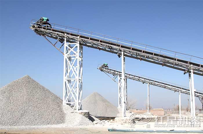 人工制砂生产线现场