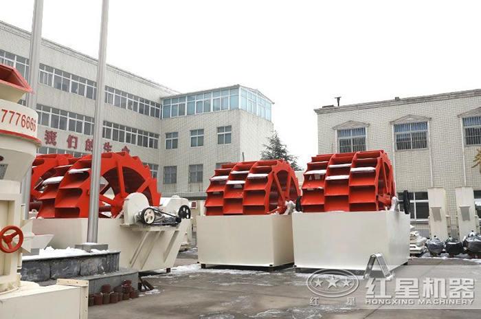 红星机器生产的河卵石洗砂机价格实惠