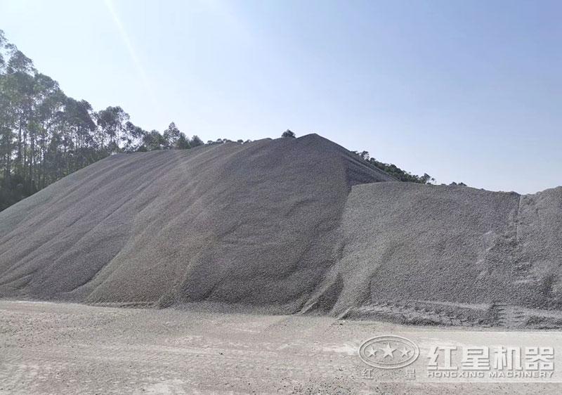 砂石场成品区