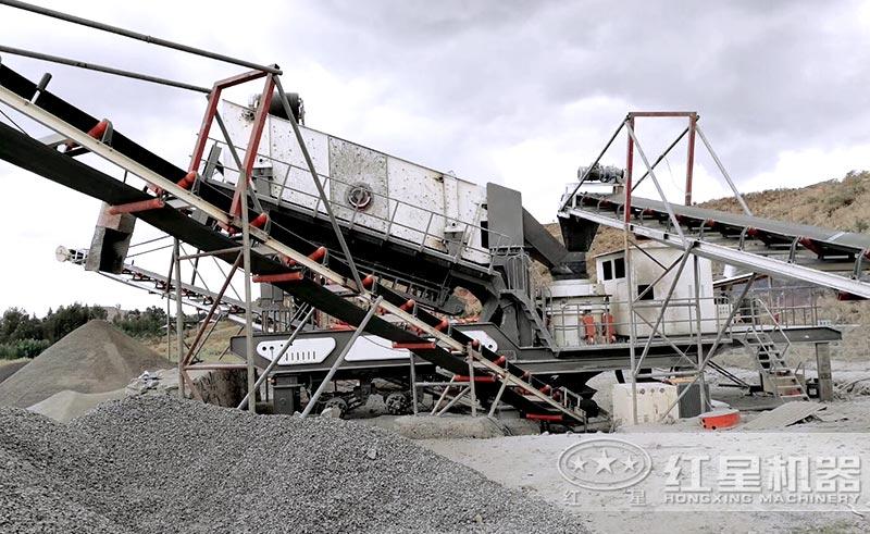 移动式制砂设备价格稍贵