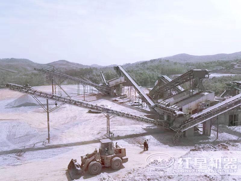 大型砂石生产线配置方案一