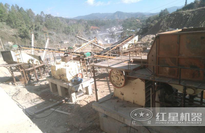 大型砂石生产线配置方案二