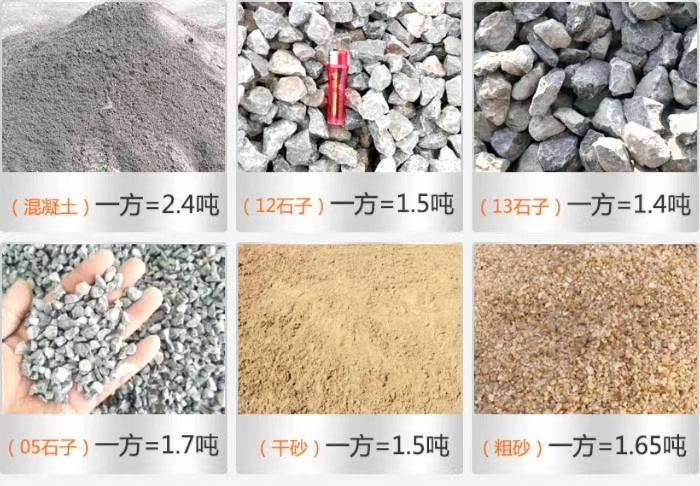 石子成品规格