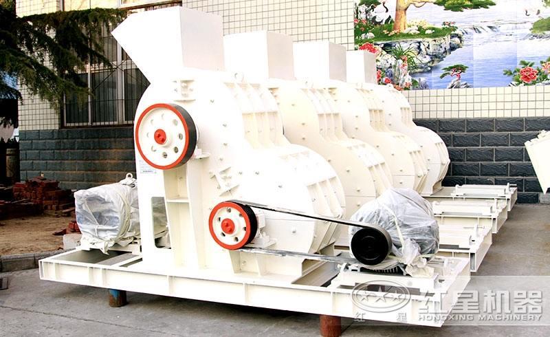 煤矸石双级制砂机