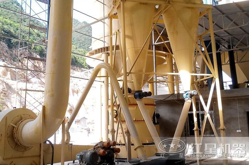 硅石粉生产现场参观