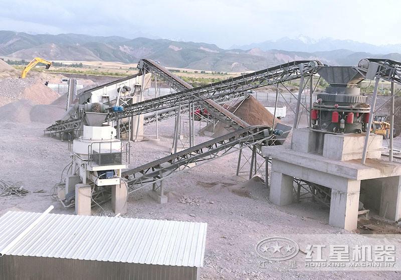 固定式制沙生产线