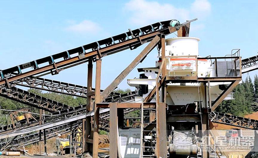 HVI制砂机生产现场
