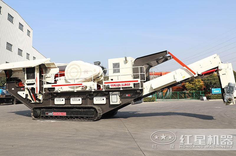 履带式移动环保制砂机厂家现货