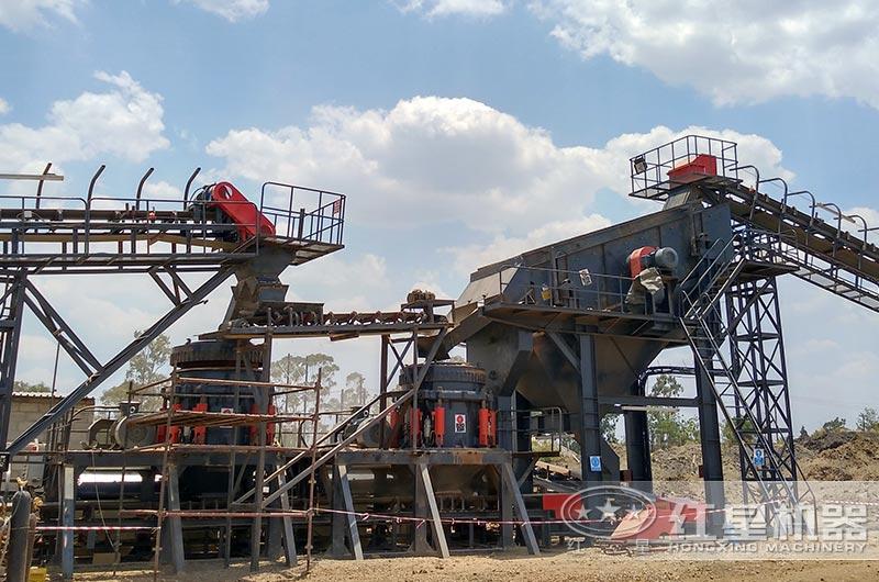铁矿石生产现场