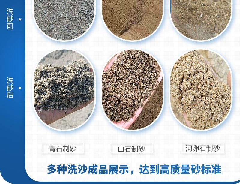 洗砂成品展示