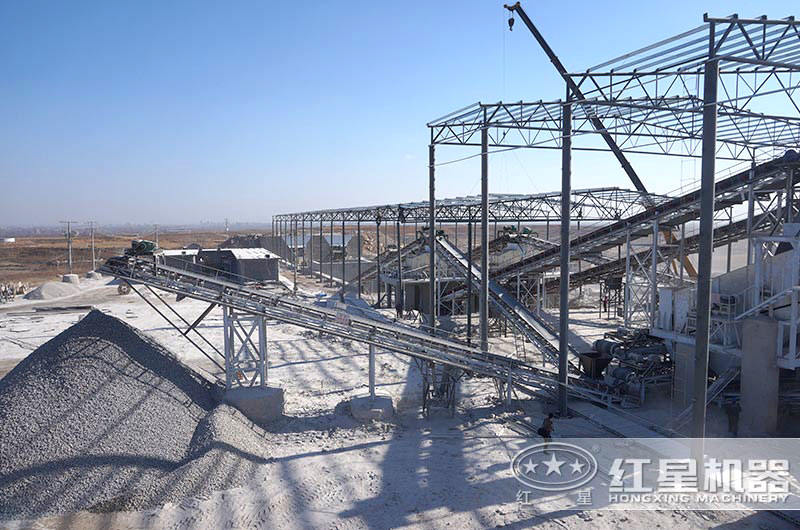 机制砂生产厂