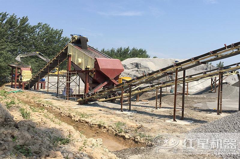河南石料生产现场