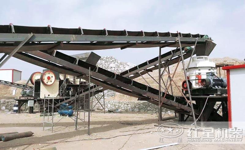 砂石生产线选择的设备不同,沙石生产线价格不一