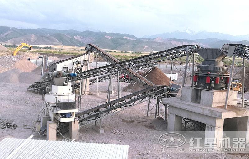 生产建筑砂砂石料生产线设备
