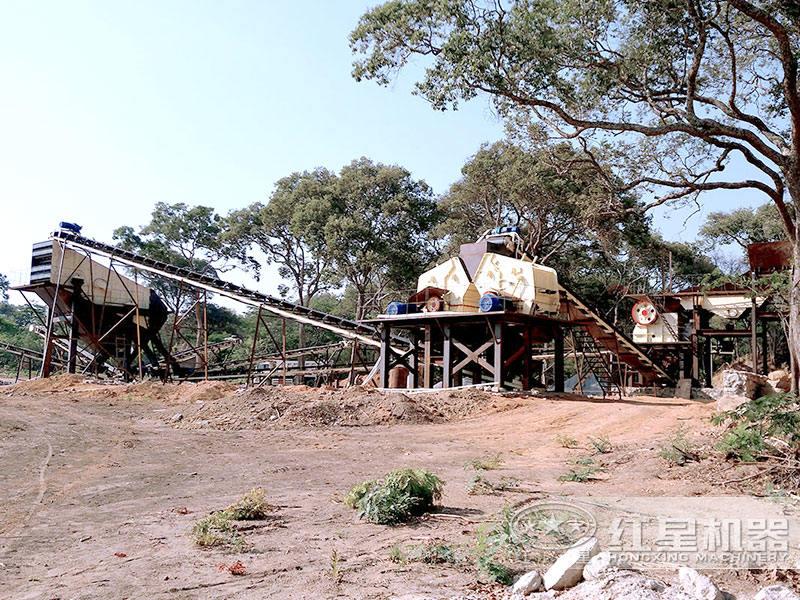 生产建筑石子砂石料生产线设备