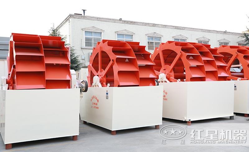 常见的轮斗式洗砂机