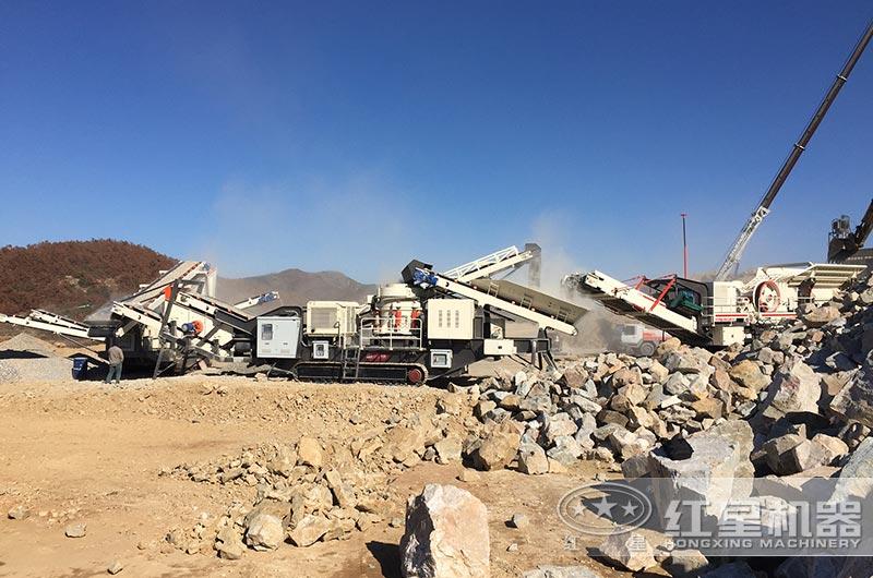 山东移动式制砂生产线