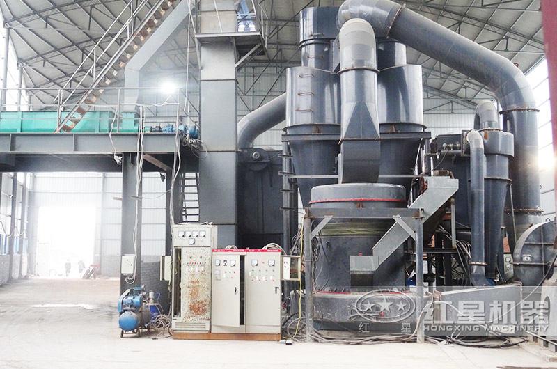 石灰石磨粉生产线