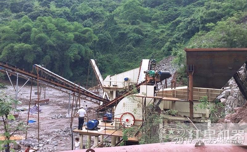 小型锤式煤矸石制砂生产线