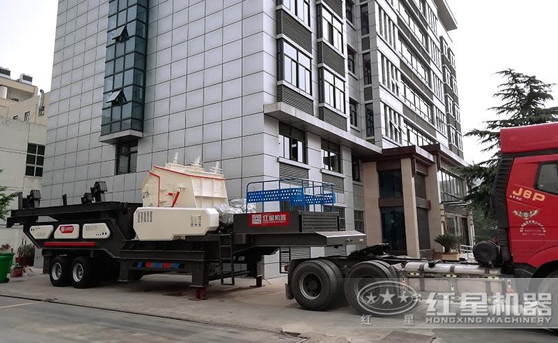 红星机器建筑垃圾粉碎机正准确发货中