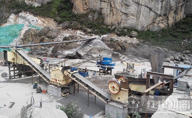 大型碎石场生产线