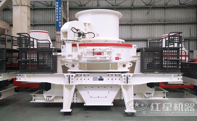 HVI鹅卵石制砂机械设备