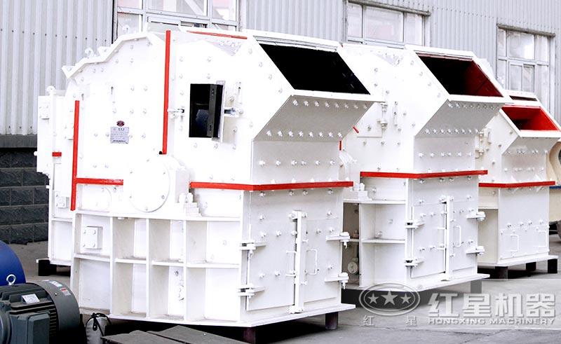 细碎机可对湿度与粘度较大的物料进行破碎
