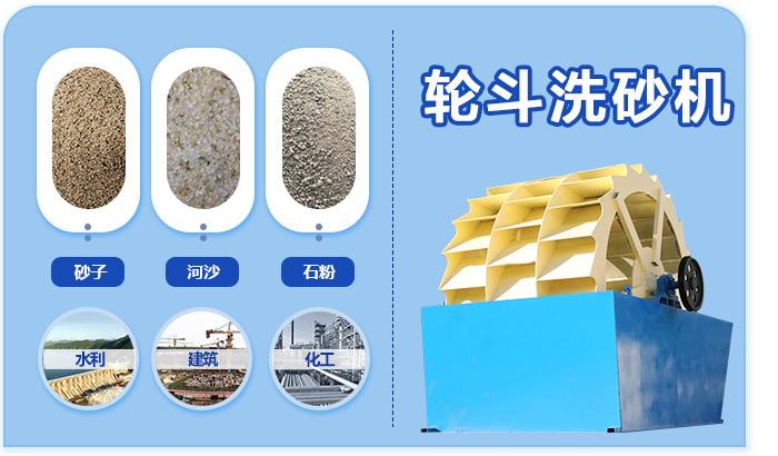 洗砂机优势