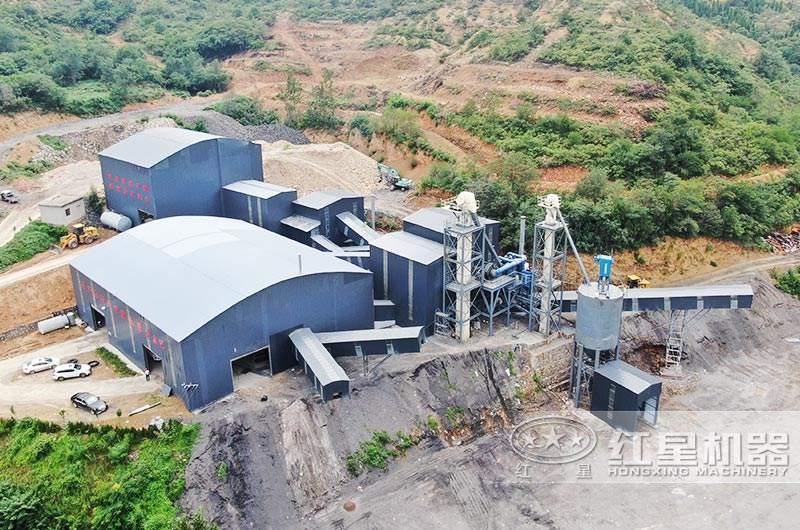 河南登封日产3万吨生产现场