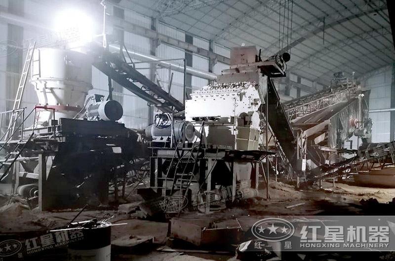 细碎机生产线
