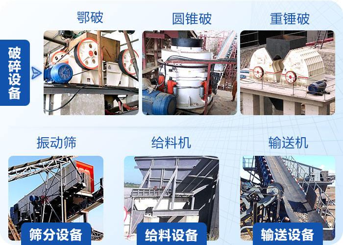 制砂生产线主要设备